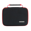 Harlin Black with Red Trim Durable Hard Cover Cu