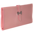 (Rose) Buckle Closure Long Wallet