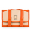 Lencca Stowaway Travel Organizer Kit (Cream / Or