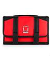 Lencca Stowaway Travel Organizer Kit (Red / Blac
