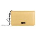 Lencca Kymira II Cell Phone Wallet Case (Tan/ Wi