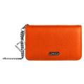 Lencca Kymira II Cell Phone Wallet Case (Orange/