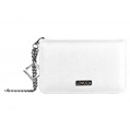Lencca Kymira II Cell Phone Wallet Case (White/