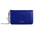Lencca Kymira II Cell Phone Wallet Case (Royal/