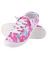 Women canvas sneaker shoes funky pink S