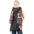 Aerusi Bear Design Winter Scarf (Brown)