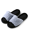 (Size 9) Aerusi Loulu Fluffy Slide