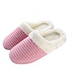(Pink) Aerusi Weave Knit Slippers