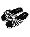 Aerusi Cozy Slide Slipper  (Zebra