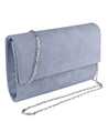 Medium Carry Suede Clutch