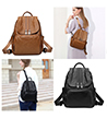 Luccia Lady Faux Leather Backpack