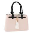 (Blush) Elisa Top Handle Faux Leather S