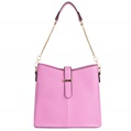 (Pink) Serena Buckle Tote Bag