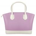 (Lilac) McKenna Two Tone Tote Bag