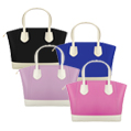 McKenna Two Tone Tote Bags