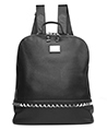 (Black) Boca Geniune Leather Backp