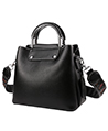 Savor Genuine Leather Top Zip Ladies Tote Bag