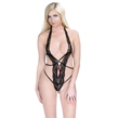 Lace and Straps Teddy Bodysuit