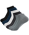 (10 Pack) Mosaic Variety Men No Show Socks