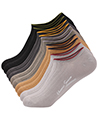 (10 Pack) Loft Variety Men Ankle Low Cut Socks