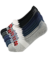 (10 Pack) Blanco Variety Men No Show Socks
