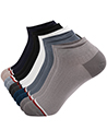(10 Pack) Carter Variety Men Ankle Low Cut Socks
