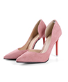 (Size 8) Luna d'Orsay Dress Pump (Rose)