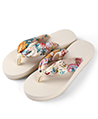 (Size 8) Saki Floral Sandals Flip