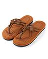 (Tan) Mesa Knot Sandals Flip Flops