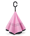 (Pink) Double Layer Reverse Long Umbrella