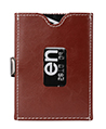 Genuine Leather Trifold Wallet with RFID Blocki