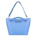 (Blue) VanGoddy Cabana Tote Bag