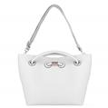 (White) VanGoddy Cabana Tote Bag