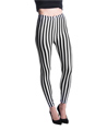 Women's Fashion Leggings Design (Black/White Ver