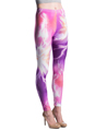 Women's Fashion Leggings Design (Purple Spark/Ma