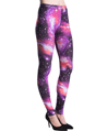 Women's Fashion Leggings Design (Purple