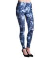 Women's Fashion Leggings Design (Dark Blue Light
