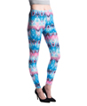 Women's Fashion Leggings Design (Aztec Bubblegum