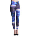 Women's Fashion Leggings Design (Neptune Blue)