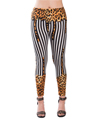 Women's Fashion Leggings Design (Leopard/Black S
