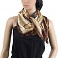 Pocket Watch Scarf (Coffee Brown)