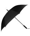 (Black) Beige Trim Long Umbrella (Automatic)