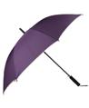 (Purple) Beige Trim Long Umbrella (Automatic)