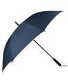(Navy Blue) Beige Trim Long Umbrellas (Automatic