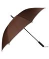 (Coffee) Beige Trim Long Umbrellas (Automatic)