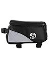 (Black) Reflective Bicycle Frame Bag
