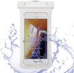 (White) Gear Clip Waterproof Pouch