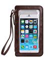 (Brown) Trendy Touch Screen Crossbody Bag