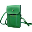 (Green) Vertical Savvy Crossbody B