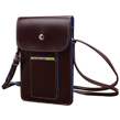 (Brown) Vertical Savvy Crossbody B